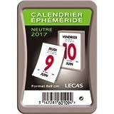 Lecas - 400069581 - Classique Bloc - Calendrier Ephéméride - Année 2017