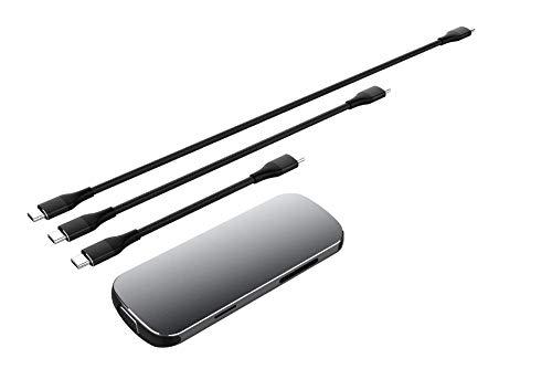 ZUZU USB C-Hub, Typ C-Hub USB 3.0-Hub, USB 3.0-Hub, Typ C-Hub, Kleiner USB-Hub für Laptops, USB C-Adapter aus Aluminium,