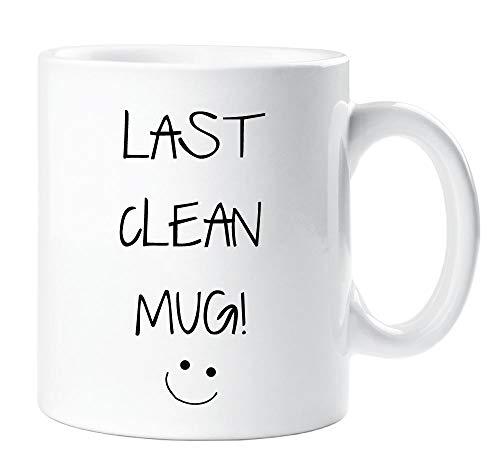 Last clean mug sarcasm sacrastic amico divertente regalo per compleanno, natale student