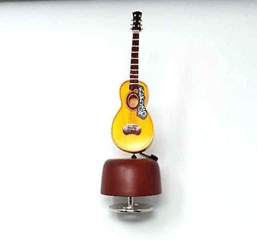 Boîte à Musique Classique Vintage décorations pour la Maison Maison Maison 1pcs Carré Classique en Bois à Femmeivelle exquise rétro boîte à Musique Cadeaux 0e8271