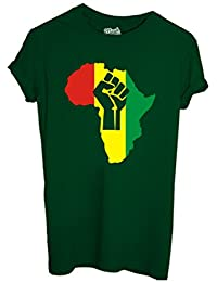 T-Shirt Africa United - Política By Mush Dress Your Style