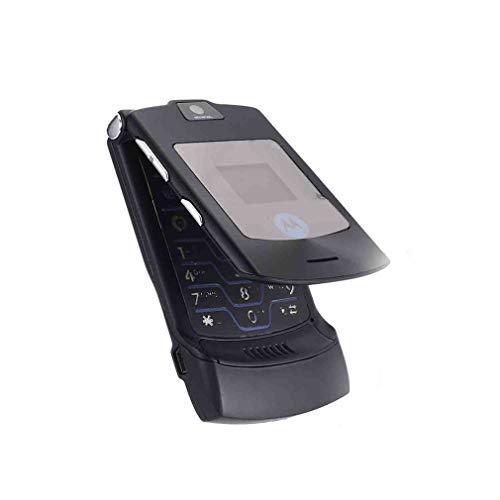 1997LM Faltbares Handy Motorola Razr V3I + Simlock-Frei + Mit Folie + Topp Schwarz