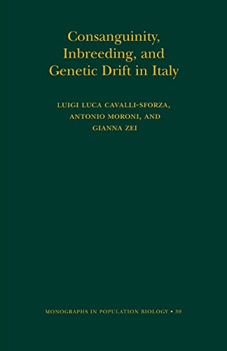 Consanguinity, Inbreeding, and Genetic Drift in Italy (MPB-39) (Monographs in Population Biology)