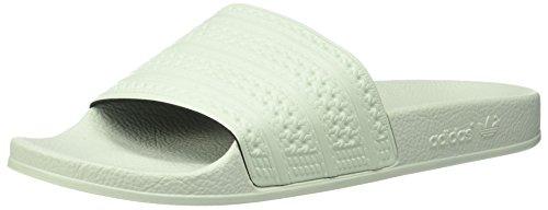 adidas Originals Adilette Homme Slip-on Diapositives, Vert (Linen Green Linen Green Linen Green S), 39.5