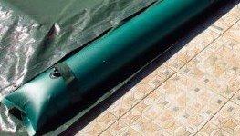 Barres périmétriques de 3 m pour fixation de bâche de piscine
