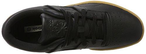 Reebok Club Workout, Chaussures de Gymnastique Homme Noir (Black/chalk-gum)