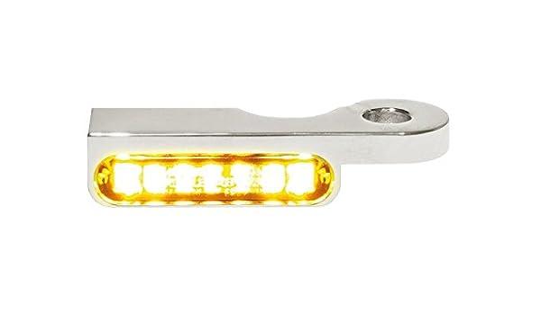 LED Armaturen Blinker DYNA Modelle 96- schwarz