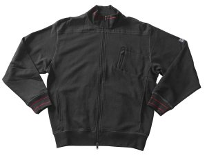 Preisvergleich Produktbild Mascot CHANIA Sweatshirt mit Reißverschluß,  schwarz,  XL - 54 / 56