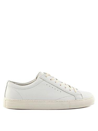 Lufian Homens Baixa Sapatos Branco