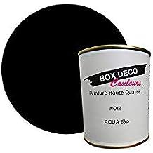 Peinture Acrylique Aspect Velours Aqua Bois   Meuble Bois   34 Couleurs    750 Ml