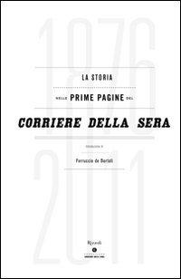 La storia nelle prime pagine del Corriere della Sera (1876-2011)