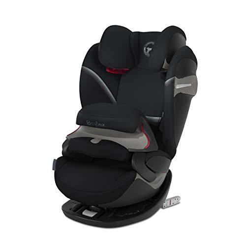 CYBEX Gold 2-in-1 Kinder-Autositz Pallas S-Fix, Für Autos mit und ohne ISOFIX, Gruppe 1/2/3 (9-36 kg), Ab ca. 9 Monate bis ca. 12 Jahre, Deep Black
