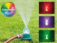 """Lunartec Regenbogen-Sprinkler """"Waterpower"""" mit 6-fach Farbwechsler von Lunartec auf Lampenhans.de"""