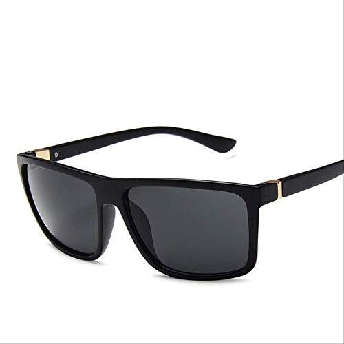 Gafas De Sol Para Hombre Mujeres Cuadrado Uv400 Protección Reflectante Espejo Al Aire Libre Gafas De Conducción Regalos SIN CASO c4