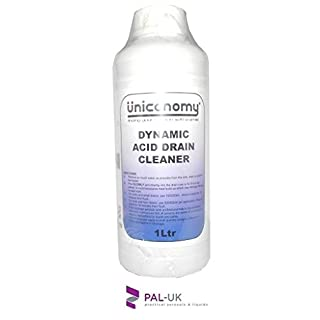 DYNAMIC ACID CLEANER INDUSTRIAL STRENGTH INSTANT TOILET AND DRAIN CLEANER UNBLOCKER/ HAIR FOOD GREASE 1L