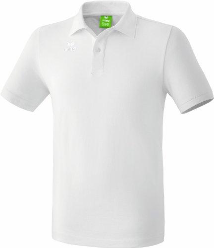 erima Kinder Poloshirt Teamsport, weiß, 164, 211331