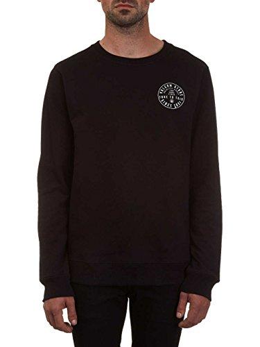 Herren Sweater Volcom Aperture Crew Sweater Black