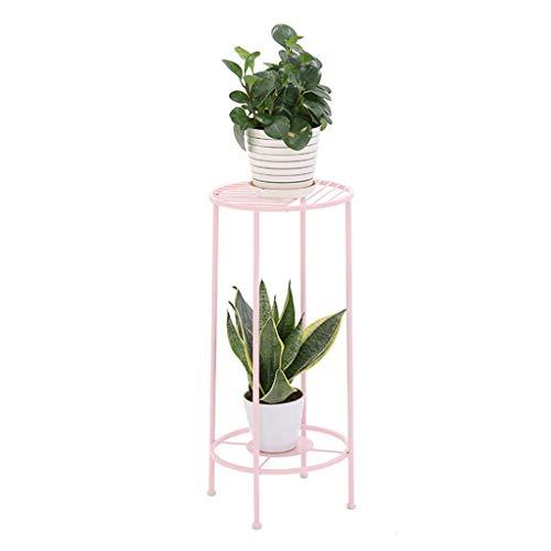 LIYANHJ Blumenständer Eisen Metall stehend Blumenregal für Pflanzen Blumentöpfe Halter Regale Stehen Rack Gartenablage Regal für Innen...