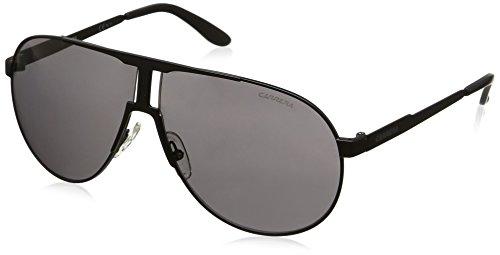 Carrera Unisex-Erwachsene NEW PANAMERIKA Y1 003 Sonnenbrille, Schwarz (Matt Black/Grey), 64