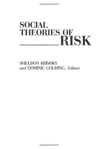 Social Theories of Risk