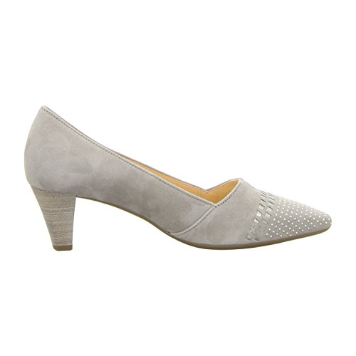 Gabor Shoes Fashion, Scarpe con Tacco Donna Grigio brillante