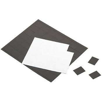Plaque De 84 Aimants Adhesifs 25x20mm - Pochette De 2 [Fournitures de bureau]