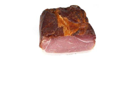Schwarzwald Metzgerei - Original Schwarzwälder Schinken mit einmalig rauchigen, leicht salzigen Geschmack, von Hand gewürzt - 1000g am Stück