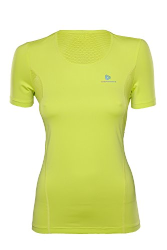 thermowave Damen Miles ärmellos Top L Lime Punch Green