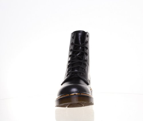 M1 8 Oeillets Pascal Dr Martens Bottines en cuir pour femme Noir - noir