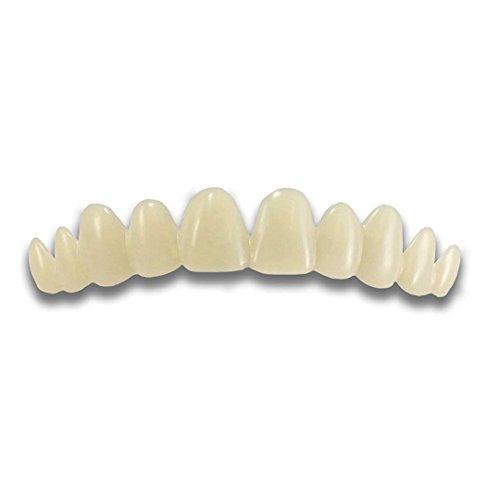Blaward Provisorischer Zahnsatz, Kosmetische Zähne,Snap On Smile Sofortiges Lächeln,Zahnspangenreinigung,Mund Zahnpflege,Körperpflege,Temporäre Zahnreparatur Kit Temp Zahnfixierung fehlt