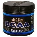 Vit-O-Best BCAA 2200, Suplementos Alimentarios para Deportistas - 180 Cápsulas