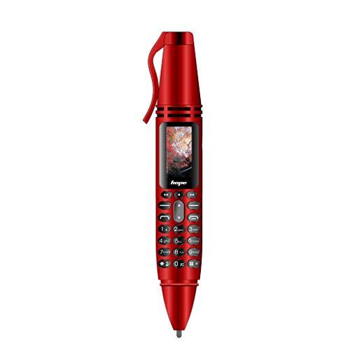 Günstiges Smartphone, Jamicy® Pen Mini-Mobiltelefon GSM Dual-SIM Kamerablitzlicht Bluetooth Dialer Mobiltelefone (Rot) Dual Mobile