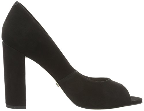 Buffalo London Damen ZS 5720-15 Nobuck Pumps Schwarz (Black 01)