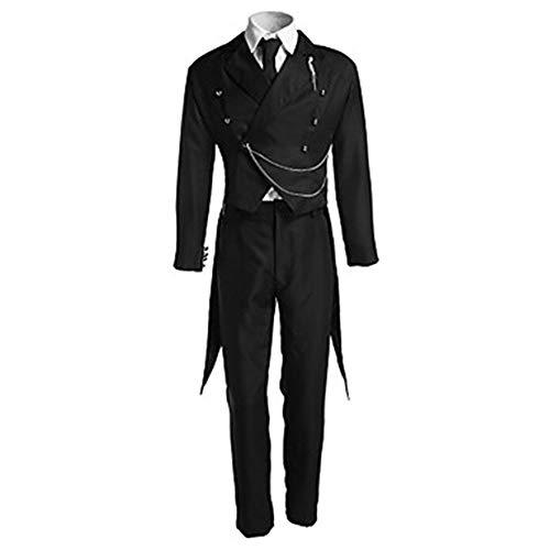 Hzd Bestes Black Butler Ciel Phantomhive Victoria Cosplay Kostüm,S (Butler Kostüm Muster)