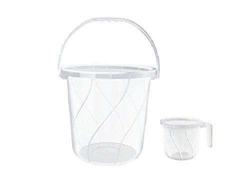 Milton Plastic Orbit Tint Bucket & Matching Mug (25 Liters,...