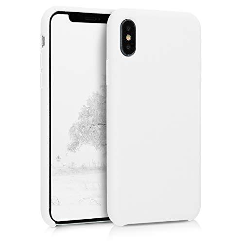 kwmobile Apple iPhone X Hülle - Handyhülle für Apple iPhone X - Handy Case in Weiß