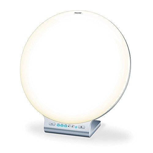 Beurer TL 100 2-in-1 LED Tageslichtlampe und Stimmungslicht, mit Farbwechselfunktion, bequeme App Steuerung