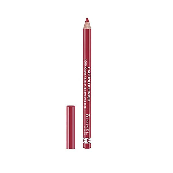 Rimmel London 1000 Kisses Lipliner Perfilador de Labios Tono 004 Indian Pink- 4 gr