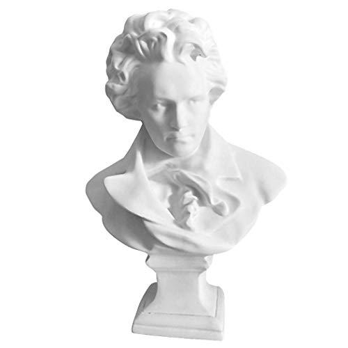 Gjiner - Estatua Busto Yeso Resina Pintar Pintar Escultura