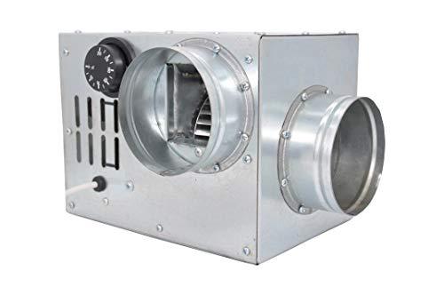 Distribución de aire caliente Chimenea Ventilador Turbina Ventilador an0.5100mm 200m3/h Compact tamaño...
