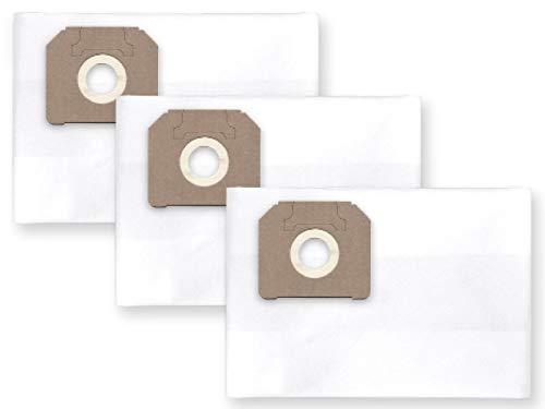 3x Vlies Staubbeutel Filtersack für FEINSTAUB/BAUSTAUB 6-lagig für Makita 446,443, 444M, 446L, VC 3511Q