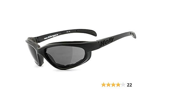 Helly No 1 Bikereyes Bikerbrille Motorradbrille Motorrad Sonnenbrille Winddicht Gepolstert Beschlagfrei Bruchsicher Top Tragegefühl Bei Langen Ausfahrten Brille Thunder 2 Auto