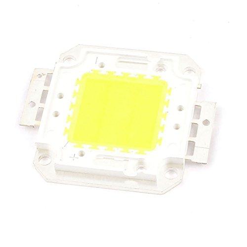 TOOGOO(R) Quadratische Form Weiss DC Licht Lampe COB SMD LED Modul Chip 30-36V 20 W Chip Form