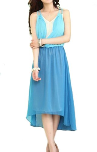 """Waooh - Fashion - Set-Top- und kleiden """" Elora """" Blau"""