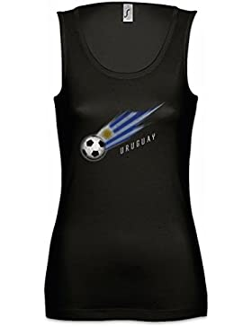 Urban Backwoods Uruguay Football Comet Mujer Camiseta Sin Mangas Tank Top Sizes S - XL