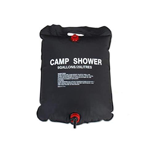 Ndier Solar-Duschbeutel, beheizt, Wärmflasche für Dusche und Andere Aktivitäten im Freien, 20 l -