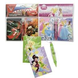 Disney Fairies Tinkerbell 2 Pack Memo Pad & Keychain Pen Set by Disney