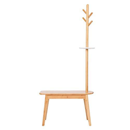 Garderobenständer Creative Floor-Standing Hanger Change Schuh-Fußbank Multifunktions-Dose Hat Hocker Bodenaufhänger