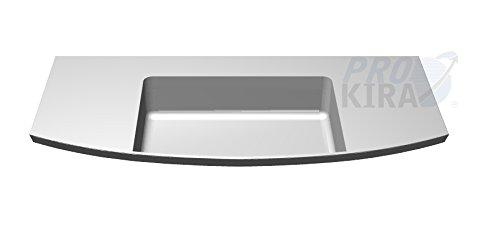 PELIPAL Cassca Mineralmarmor Waschtisch, Weiß/CS-MMWTR 51-1210 / B: 120 cm