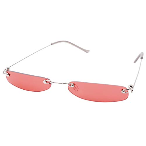 SEVENHOPE Sonnenbrille Polarisierte Driving UV-Schutz Sonnenbrille Sport Travel Portable Glasses (Red)